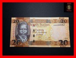 SOUTH SUDAN 20  £  2015  P. 13 A   UNC - South Sudan
