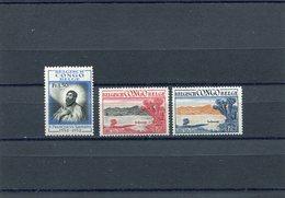 BELGIAN CONGO 1952/53  MNH. - Congo Belge