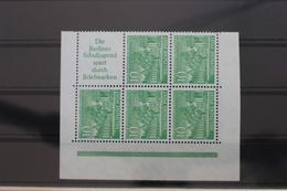 Berlin H-Blatt 6 ** Postfrisch Eckrandstück #SE091 - [5] Berlijn