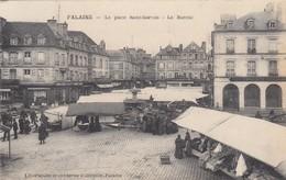 FALAISE (Calvados): La Place Saint-Gervais - Le Marché - Falaise