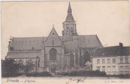 Vilvoorde/Vilvorde - De Kerk (gelopen Kaart Met Zegel) (kaart Van Voor 1900) - Vilvoorde