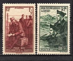 FRANCE 1941 -  Y.T. N° 474 ET 475 - NEUFS** - France