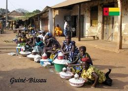 Guinea-Bissau Street Market New Postcard - Guinea-Bissau