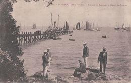 NOIRMOUTIER Un Jour De Régates, Le Départ Des Bâteaux (1906) - Noirmoutier