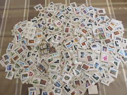 ##PP1, Canada, Vrac, Beaucoup De Hautes Dénomination, 140g, Plus De 1000 Timbres, 140g, More Than 1000 Stamps - Timbres