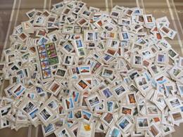##PP2, Canada, Vrac, Beaucoup De Hautes Dénomination, 140g, Plus De 1000 Timbres, 140g, More Than 1000 Stamps - Timbres