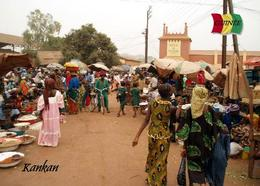 Guinea Kankan Market People New Postcard - Guinée