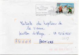 France N° 3439 Y. Et T. Deux Sèvres Ménigoute Flamme Illustrée Du 03/12/2001 - 1961-....