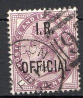 GRANDE BRETAGNE - 1882 - Service - N° 2A - 1 D. Violet - (Victoria) - (Surchargé : I. R. OFFICIAL) - Service