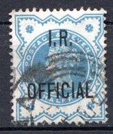 GRANDE BRETAGNE - 1888-1901 - Service - N° 11 - 1/2 D. Vert - (Victoria) - (Surchargé : I. R. OFFICIAL) - Service