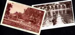 2x PARIS EXPOSITION COLONIALE INTERNATIONALE 1931 VUE DU LAC & ILE DE BAGDAD BAGHDAD IRAQ PAVILLION PERSAN IRAN - Viste Panoramiche, Panorama