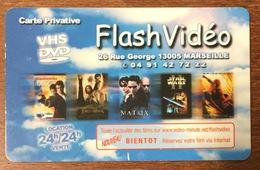 FLASH VIDÉO 13005 MARSEILLE PAS VIDEO FUTUR  PAS TELECARTE NO PHONECARD GIFT CARD - Frankreich