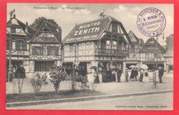 Exposition De Nancy - Le Village Alsacien - Publicité Montres Zenith - Nancy
