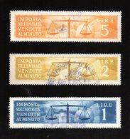 Marca Fiscale Per Imposta SullìEntrata - Revenue Stamps