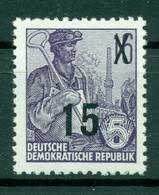 Allemagne - RDA 1954 - Y & T N. 179 - Série Courante (Michel N. 438) - Unused Stamps