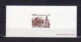 """"""" NANTES / TRAMWAY """" Sur Gravure Officielle De 2003.  N° YT 3552  En Parfait état. - Tramways"""
