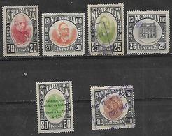 1949 Nicaragua UPU 6v. - Nicaragua