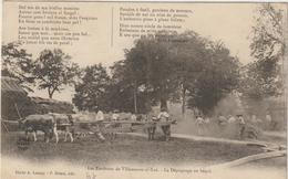 CPA   47   ENVIRONS DE VILLENEUVE SUR LOT LE DEPIQUAGE AU BEQUI - Villeneuve Sur Lot
