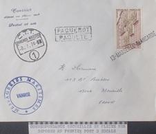 """A354 - POSTE MARITIME - PAQUEBOT """" VANOISE """" - ✉️ (1974) LOURENCO MARQUES (MOZAMBIQUE) à MARSEILLE (FRANCE) - Maritieme Post"""