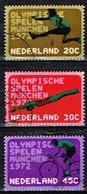 PAYS-BAS /Oblitérés/Used/ 1972 - JO Munich - Period 1949-1980 (Juliana)