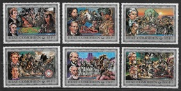 1976Comoro Islands257-262200 Years Of Independence For America 10,00 € - Isole Comore (1975-...)
