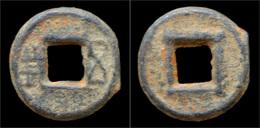 China Liang Dynasty Emperor Wu Of Liang Iron Wu Zhu Cash - Orientales