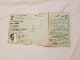 Rygby Fédération  Française  Licence De Senior U.S. Galeries Lafayette  1979 - Rugby