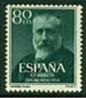 """-Spain-1954-""""Dia Del Sello"""" MH(*) - 1951-60 Unused Stamps"""