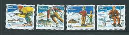 New Zealand 1984 Ski Set Of 4 MNH - Nueva Zelanda