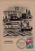 CARTE 1er JOUR 1962...DUNKERQUE  VILLE RECONSTRUITE... - 1960-69