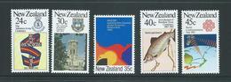 New Zealand 1983 Anniversaries Set Of 5 MNH - Nueva Zelanda