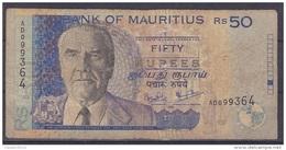 MAURICE      BILLET    50RS   1998 - Maurice
