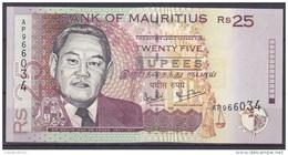 MAURICE      BILLET    25RS    1999 - Maurice