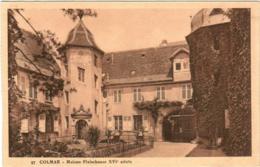 5KT 410 CPA - COLMAR - MAISON FLEISCHAUER XVI SIECLE - Colmar