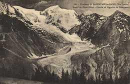 Environs De St GERVAIS Les BAINS (Hte Savoie) Massif Du Mont Blanc Combe Et Aiguille De Bionnassay RV - Saint-Gervais-les-Bains