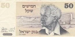Israël - Billet De 50 Sheqalim - David Ben Gourion - 1978 - P46a - Israel