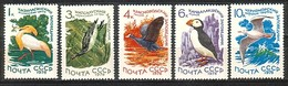 RUSSIA & USSR - 1976 - Fauna  - Mi 4506/4510 - 5v** - 1923-1991 URSS