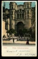 Malaga Puerta De Las Cadenas 1917 Animée - Málaga