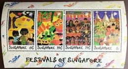 Singapore 1989 Festivals Minisheet MNH - Singapore (1959-...)
