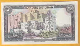 Liban - Billet De 50 Livres - 1988 - P65d - Lebanon