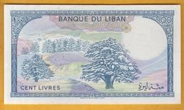 Liban - Billet De 100 Livres - 1988 - P66d - Lebanon