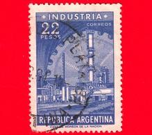 ARGENTINA - Usato - 1962 - Immagini Varie Dello Stato - Fabbriche | Industria | Ingranaggi - Ruote Dentate - 22 - Argentina