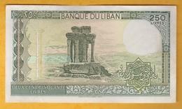 Liban - Billet De 250 Livres - 1988 - P67e - Lebanon
