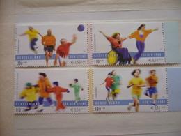 Germany Deutschland 2001 Sport Für Alle Mi. 2165/68, Ungebraucht - [7] République Fédérale