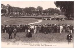 Bayonne - Le Camp De Saint-Léon Un Jour De Revue - édit. LL. Lévy 113 + Verso - Bayonne