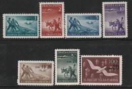 TRIESTE - PA N°10/6 ** (1949) Surchargés - Luftpost