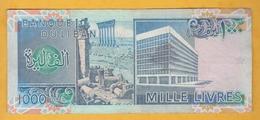 Liban - Billet De 1000 Livres - 1988 - P69a - Libanon