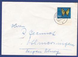 Einzelfrankatur MiNr. 379, Bogenrand (aa0369) - Storia Postale