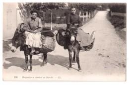 Basquaises Se Rendant Au Marché - édit. LL. Lévy 190 + Verso - Autres Communes