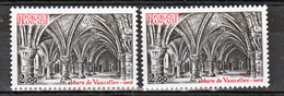 France 2160 A GT Abbaye De Vaucelles Peu Visible Sur Scan  Neuf ** TB MNH Sin Charnela Cote 40 Dallay + Original - Varietà: 1980-89 Nuovi